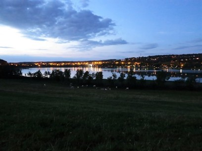 Tombée de la nuit sur Clairvaux