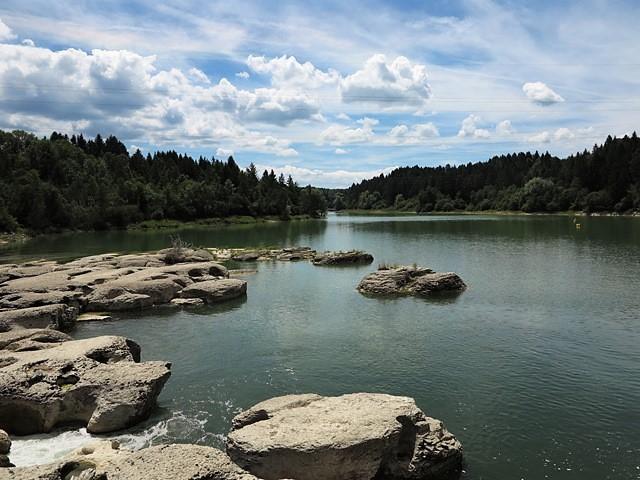 Lac Vouglans-Pont de Poitte