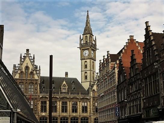 Centre ville de Gand et son architecture