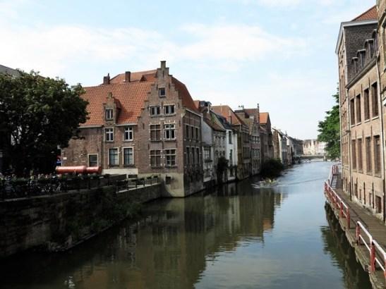 Les canaux de Gand