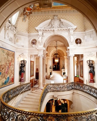 Les voyages de Valentine-château de Chantilly