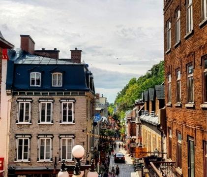 Petit Champlain-Road trip Québec