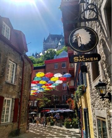 Rue du Cul de Sac-Road trip Québec
