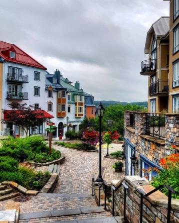Village Mont Tremblant-Road trip Québec