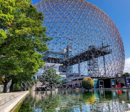 La biosphère de Montréal-Road trip Québec