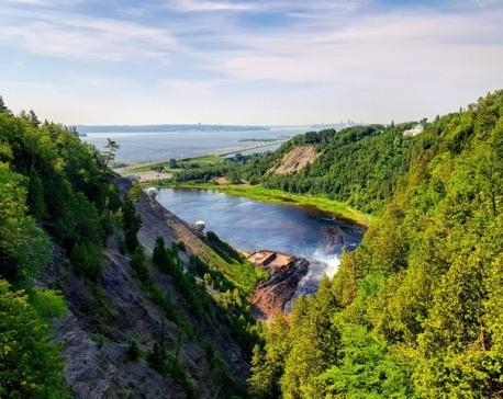 Balades aux chutes de Montmorency-Road trip Québec