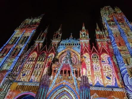 Les Voyages de Valentine-Balade à Rouen