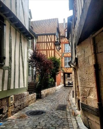 Balade dans les rues de Rouen