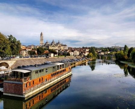 Une jolie vue sur Périgueux et sa cathédrale