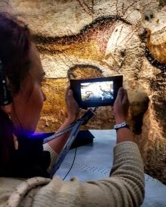Visite interactive des grottes de Lascaux