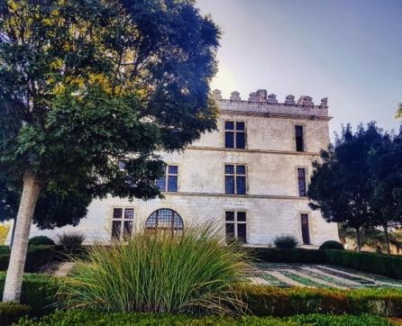Visite du château de Bourdeilles-partie renaissance