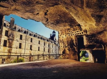 Grottes de l'abbaye de Brantôme