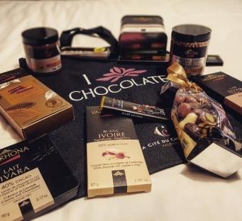 Les Voyages de Valentine-La cité du chocolat