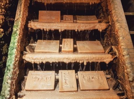 Echelle de fontaines pétrifiantes de St Nectaire
