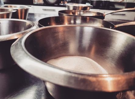 Cours de cuisine à l'atelier des chefs