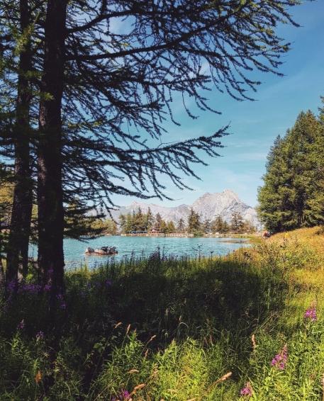 Les voyages de Valentine-Lac de la Grande Léchère