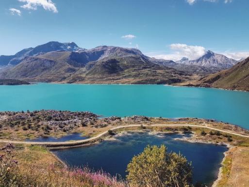 Les voyages de Valentine-Lac du Mont Cénis